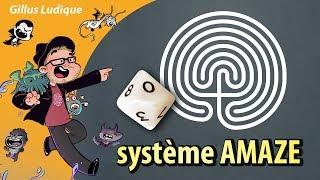 #jdr Système AMAZE - les règles à la portée de tous