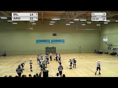 Roller Derby: Team Ireland vs Team Argentina 2018-01-28