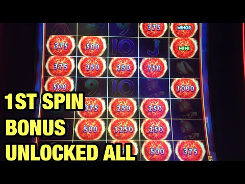 ***FIRST SPIN BONUS EPIC WIN*** UNLOCKED ALL!!! ULTIMATE FIRE LINK  | CELESTIAL MOON & SUN RICHES