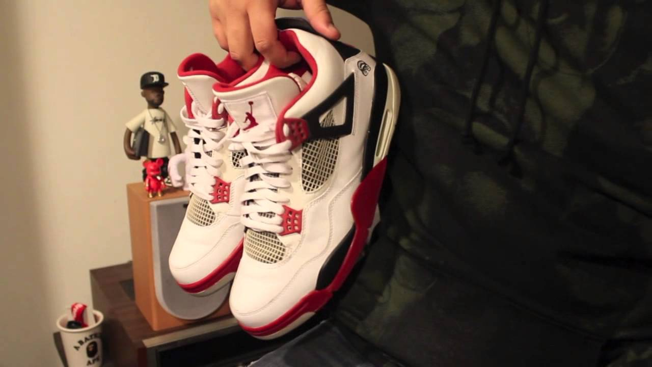 Just Copped It  Air Jordan 4 Fire Red (2006) from the Thrift Store ... 55992fdc1