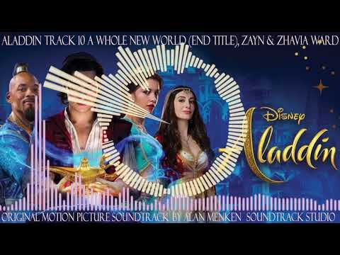 Aladdin, 10, A Whole New World (End Title), Zayn Ward & Zhavia Ward