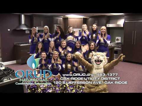 2012 Oliver Springs High School Cheerleaders for ORUD