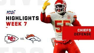 Chiefs EAT w/ 9 Sacks on Broncos | NFL 2019 Highlights