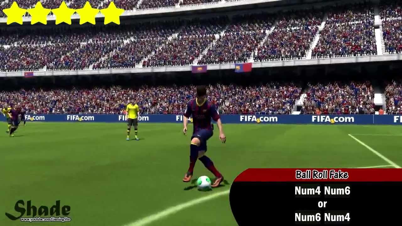 FIFA 14 All Skills Tutorial | PC Keyboard | HD