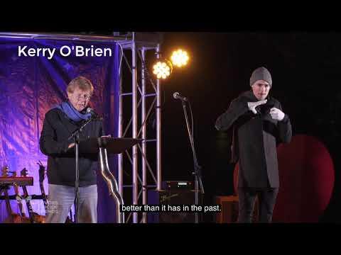 Kerry O'Brien at Winter Solstice 2021