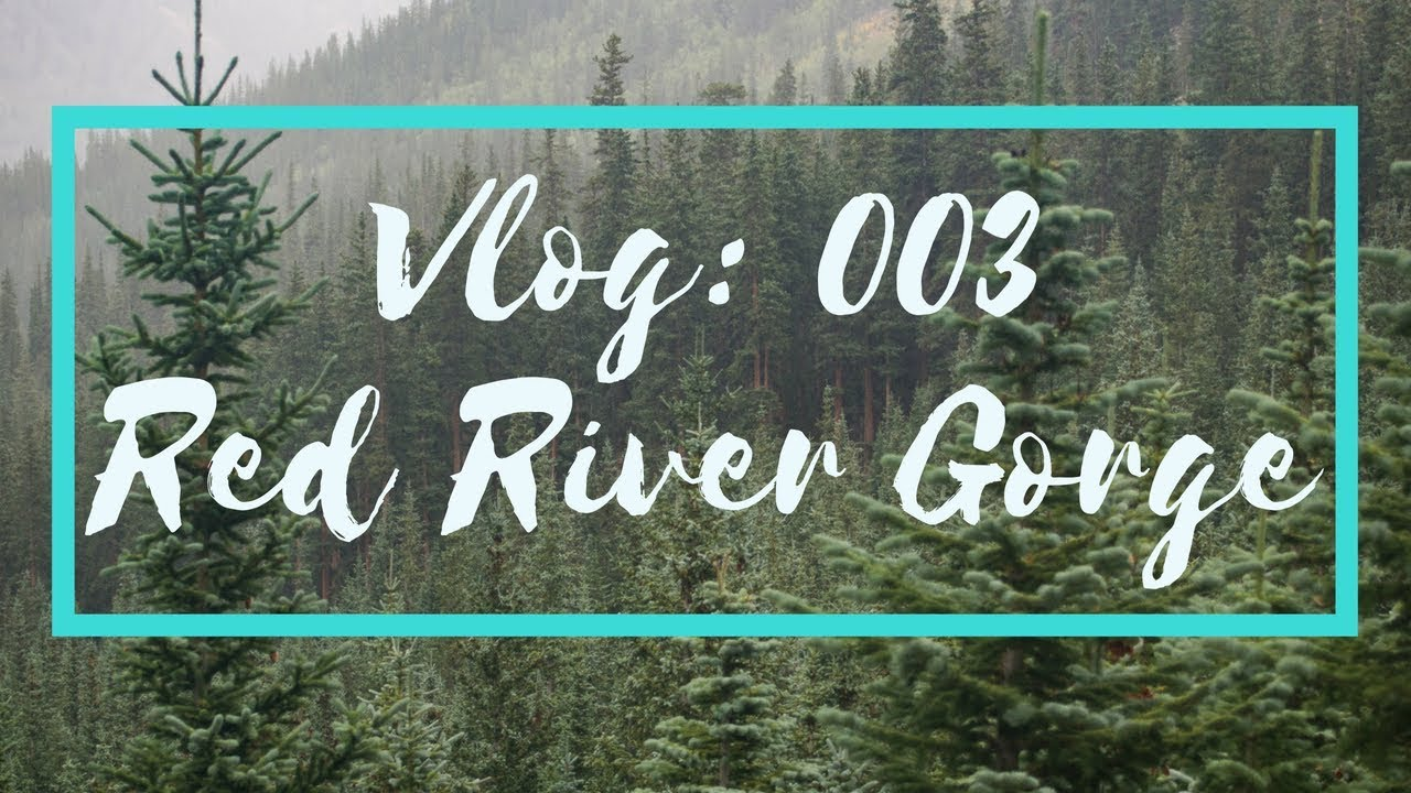 Vlog 003 // Red River Gorge