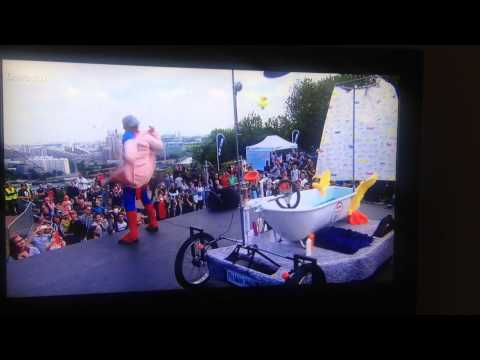 Red Bull soap box racing france - Spongebob