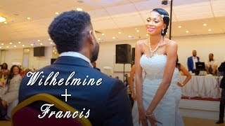 Wilhelmine & Francis London Congolese wedding
