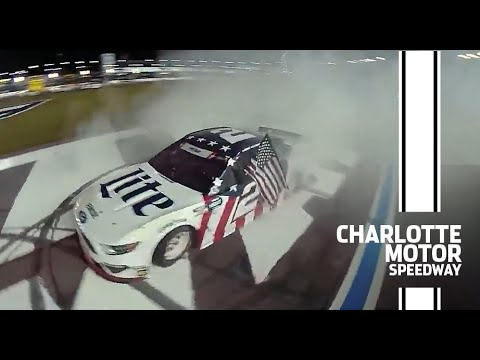 Red, White and Burnout: Keselowski burns it down at Charlotte | NASCAR Cup Series