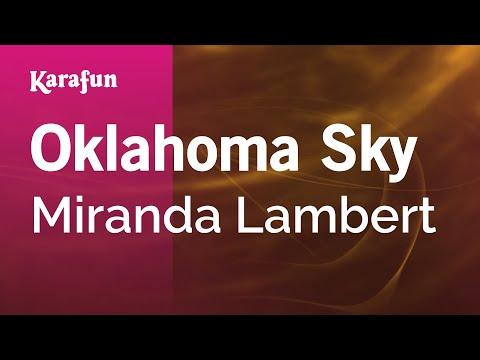 Karaoke Oklahoma Sky - Miranda Lambert *