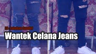 Cara Wantek Mewarnai Celana Jeans
