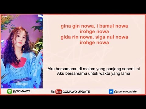 Easy Lyric (G)I-DLE - LATATA By GOMAWO [Indo Sub]