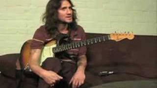 John Frusciante teaching different styles and soloing
