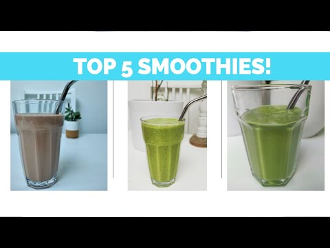 5 Smoothies to break a fast | Fast 800 smoothies | Healthy smoothies | Low calorie smoothies