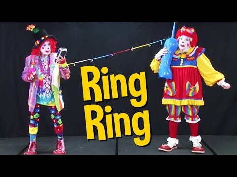 Ring Ring with Florabelle and Cutie Pie of Clowns on Call