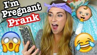 im pregnant prank calls
