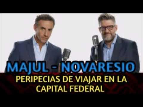 LUIS MAJUL LUIS NOVARESIO - VIAJAR EN BUENOS AIRES Y JUBILADOS