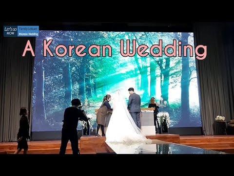결혼식 ㅣKorean Wedding ㅣตามรอยซีรีย์เกาหลี อุน & ยูลพาชมบรรยากาศงานแต่งงานสไตล์เกาหลี