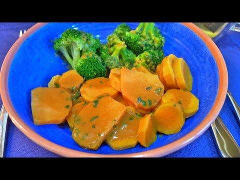 Sweet Potato Broccoli with Peanut Dressing