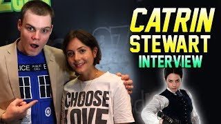 Doctor Who: Catrin Stewart Answers Your Questions!