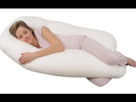 Comfort U Total Body Support Pillow Youtube