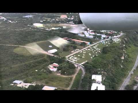 landing St. Eustatius