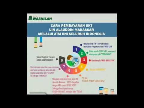 Tutorial Video Cara Membayar SPP UIN Alauddin Makassar