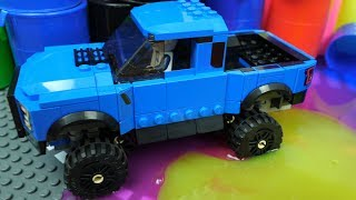 Cars toys and Trucks toys Videos for kids . Barrel o Slime
