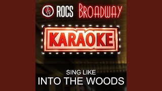 On the Steps of the Palace (In the Style of into the Woods) (Karaoke Instrumental Version)
