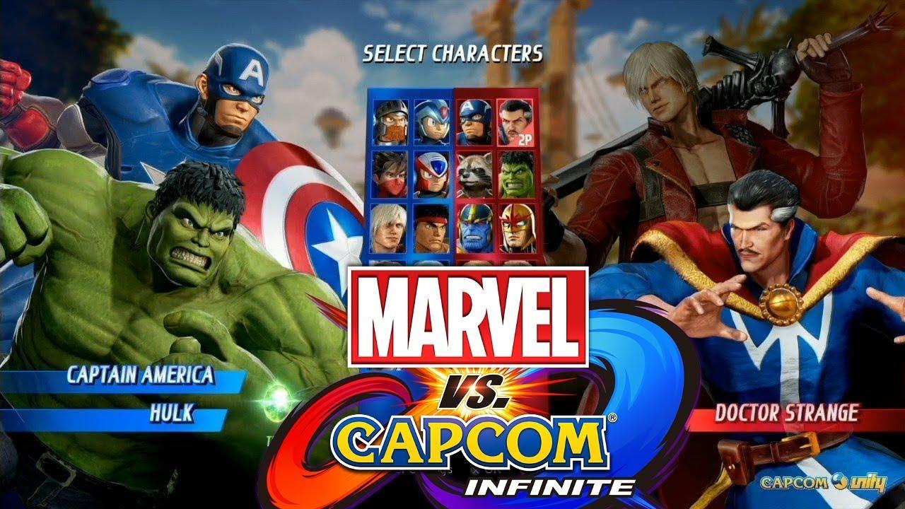 Marvel Vs Capcom Infinite Character Select Theme