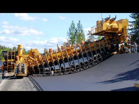 Incredible Fastest Asphalt Paving Equipment Machines - Amazing Modern Road Construction Machine