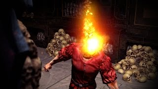 Path of Exile: Deicide Flame Helmet