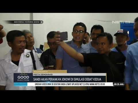 Sandi Akan Perankan Jokowi di Simulasi Debat Kedua Mp3