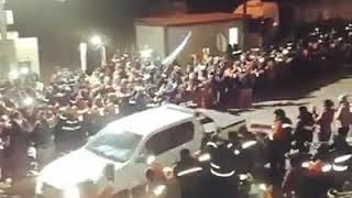 Video: Gerencia de Mina El Aguilar abandona la mina con custodia policial