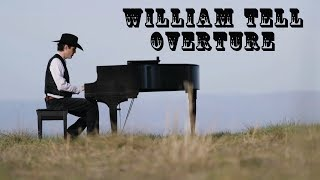 William Tell Overture - Insanely Difficult Jazz Piano Arrangement - Jacob Koller