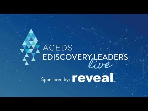 #eDiscoveryLeadersLive featuring Rachel McAdams