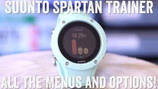 Suunto Spartan Trainer Wrist HR: All about the menus!