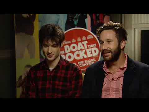Chris O'Dowd and Tom Sturridge - The Boat that Rocked