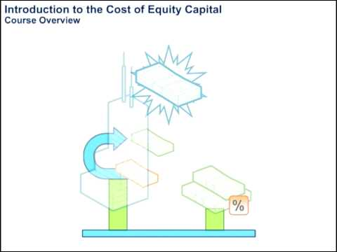 Introduction to the Cost of Equity Capital