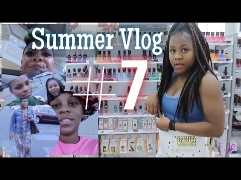 "| VLOG | Summer Vlog #7 ""Work hard for that money"", Value of 30 cent, Swimsuit Shopping & Walmart"