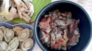 電飯煲乾鮑魚烹調  (發乾鮑)