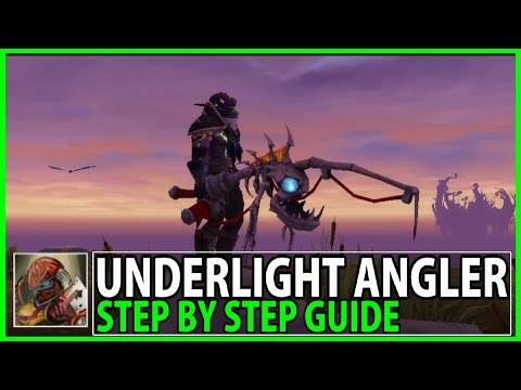 The Underlight Angler Guide - Step By Step Guide To Get The Fishing Artifact In Legion