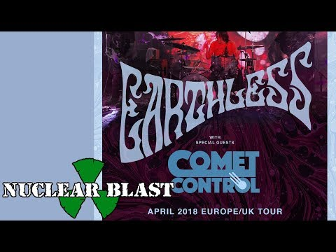 EARTHLESS - Spring 2018 European Tour (OFFICIAL TRAILER)