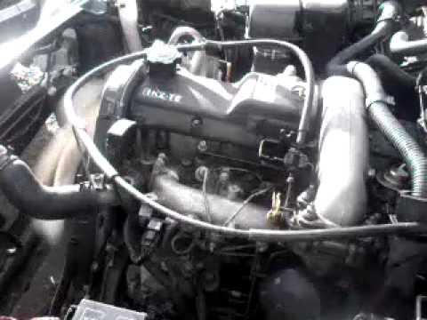 Motor KZT E arrancado