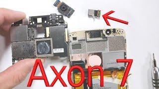 axon 7 teardown screen repair battery replacement charging port fix