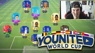 DAS WARS DANN WIEDER KOMPLETT!! | YOUnited World Cup