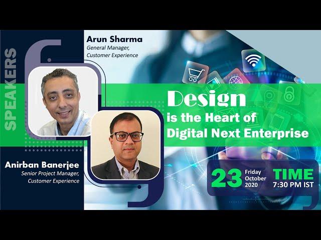 Vidcast - Design is the Heart of the Digital Next Enterprise