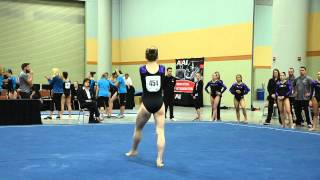 Lauren Farley - Floor Exercise - 2015 Women's Junior Olympic Championships