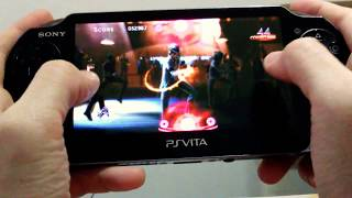 PS Vita - Michael Jackson The Experience HD [Smooth Criminal] Gameplay