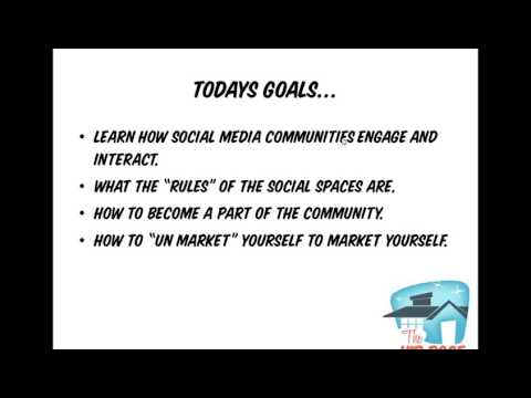 Social Media: The Rules of Engagement